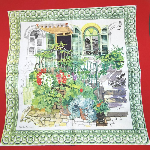 Serviette papier/napkin: gien france \
