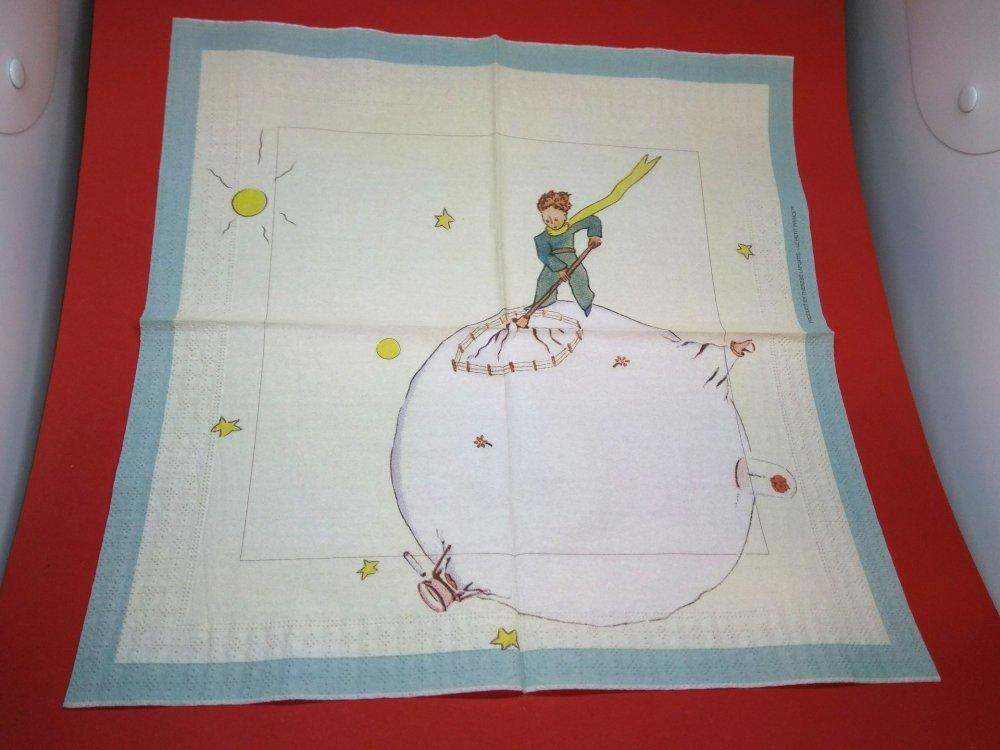 """serviette papier/napkin: Enfant  """"Le Petit Prince"""""""