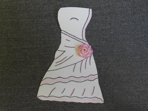 Mariage étiquettes marque place robe de mariée + costume