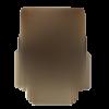2 breloques support cabochon fabrication bijoux couleur bronze 5.7 x 3.7 cm hiboux