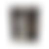 Petit portefeuille compact homme,  similicuir gris, tissu noir ,  porte-cartes, porte-monnaie, steampunk, industriel, victorien ,2 volets