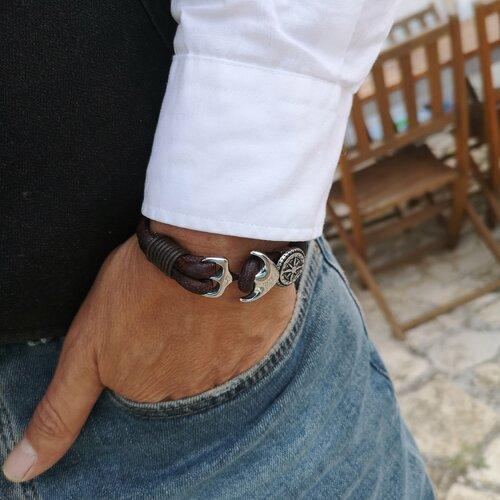 Bracelet cuir homme bracelet homme