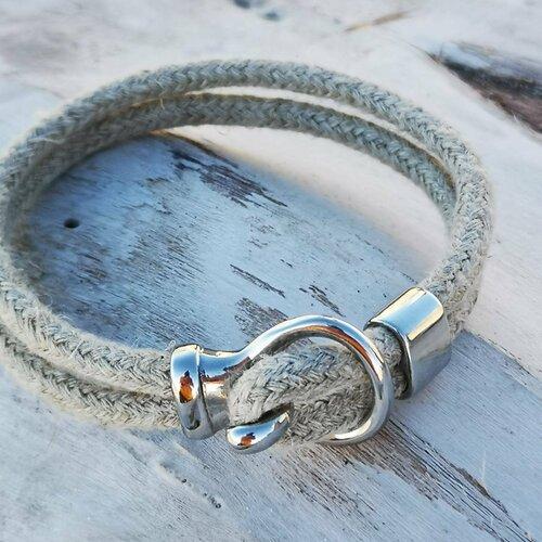 Bracelet chic et chanvre