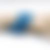 Bracelet manchette mémoire tourbillon d'agate