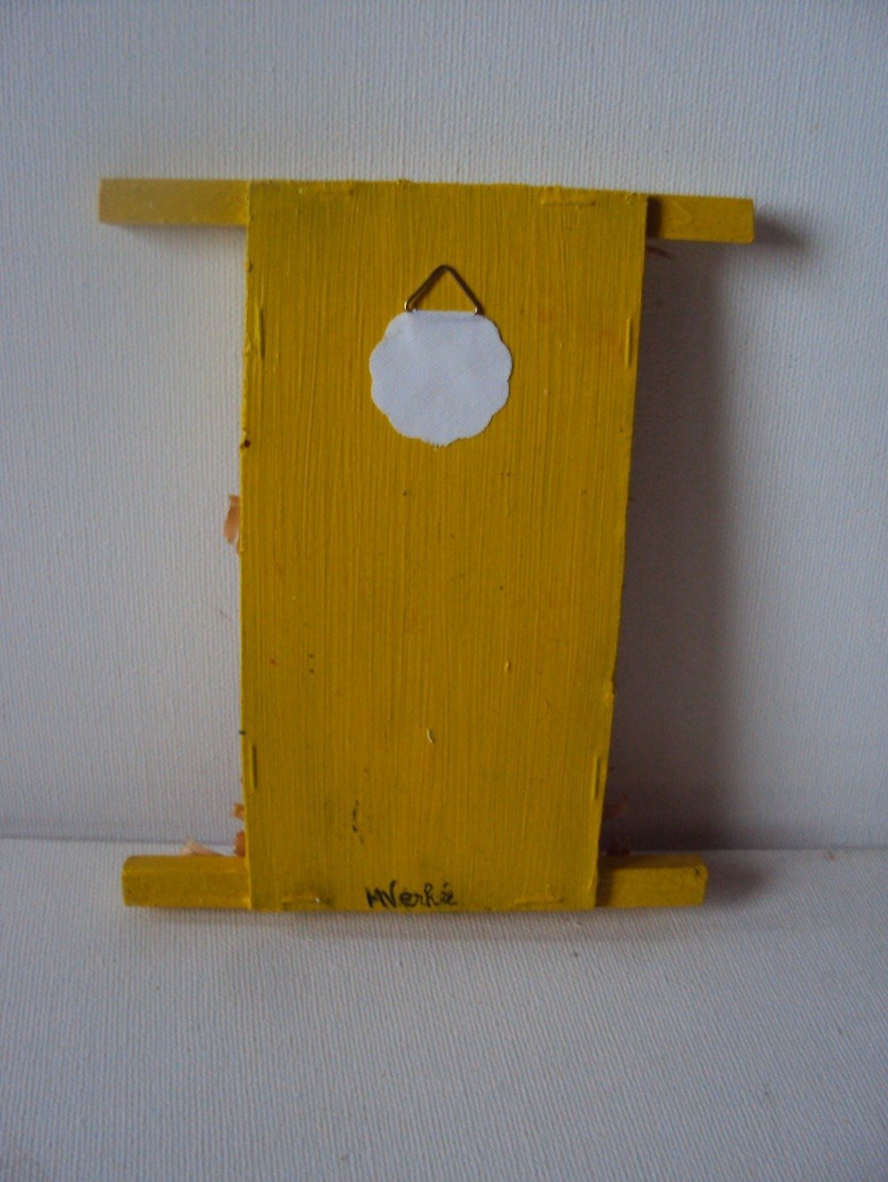 Broderie point compté Perruche kakariki jaune, un besoin de liberté