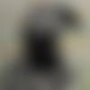 Poupée chaussette à damiers  - poupée de chiffon -