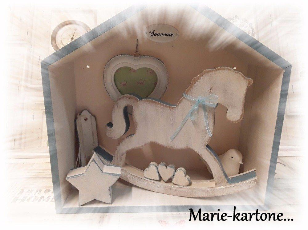"""Cabinet de curiosité """" Le Cheval Bleu """""""
