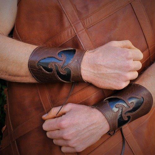 bracelet cuir avant bras