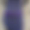 Ceinture en cuir violet ; ceinture en cuir made in france ; idée cadeau violet ; 20/7