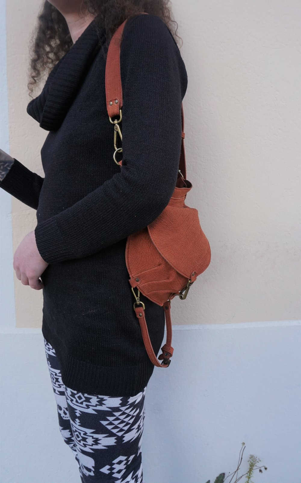 sacoche festival cuir ; Sacoche de hanche cuir ; ceinture utilitaire ; idée cadeau pour voyage ; 20.02