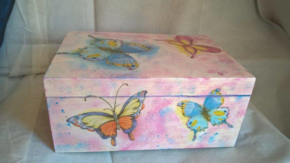 coffret photo papillons
