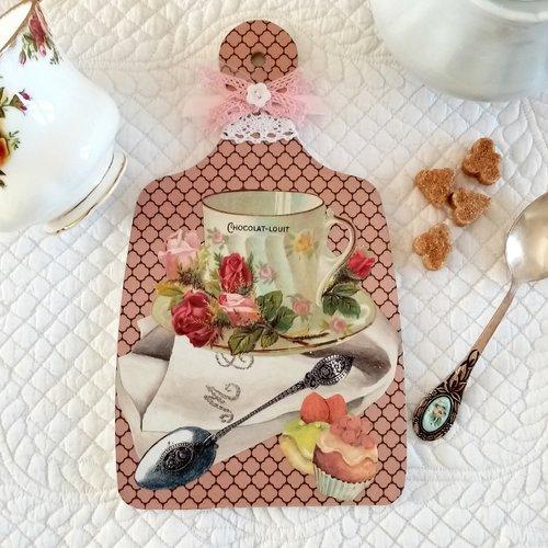 Planche à découper décorative.décoration cuisine