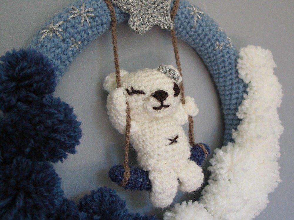 Couronne Au Crochet Ourson