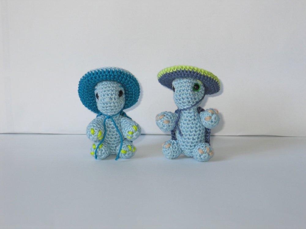 Tortue au crochet et sombrero