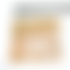 1 carré cotte de mailles dorée habillage pour pendentif poupée mannequin breloque en métal doré 5 x 5 cm