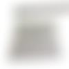 1 carré cotte de mailles argent habillage pour pendentif poupée mannequin breloque en métal argenté 5 x 5 cm
