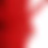Ruban dentelle élastique largeur 1 cm couleur rouge vendu au mètre