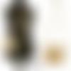 Mini sac à main pochette bandoulière 16 x 13 x 3 cm modulable en  besace cuir beige style crocodile