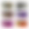 Porte monnaie en cuirs vernis 12,5 x 7,5 cm couleurs au choix personnalisable