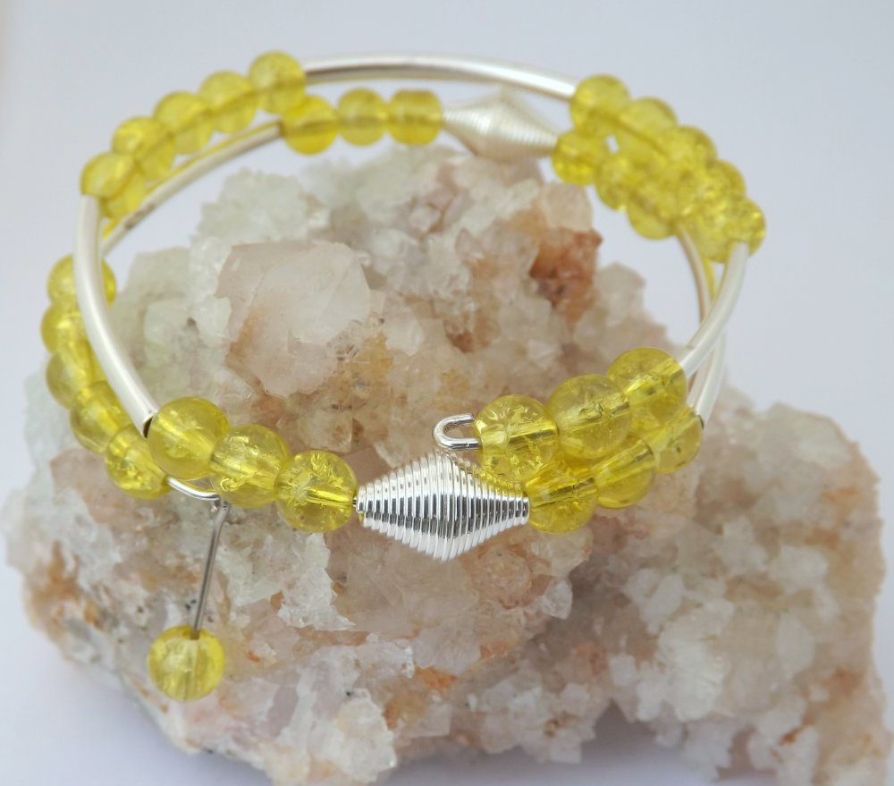 Bracelet fil mémoire