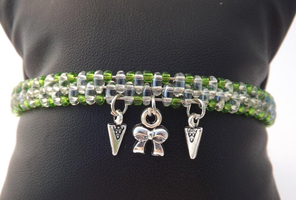 Bracelet à mémoire de forme