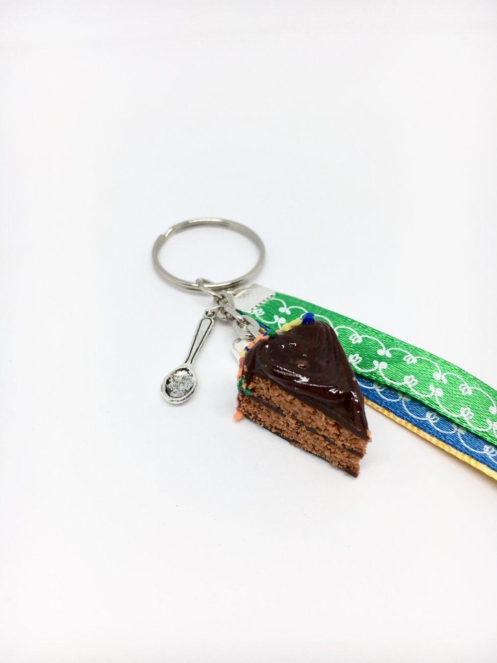 porte clés gâteau m&m's