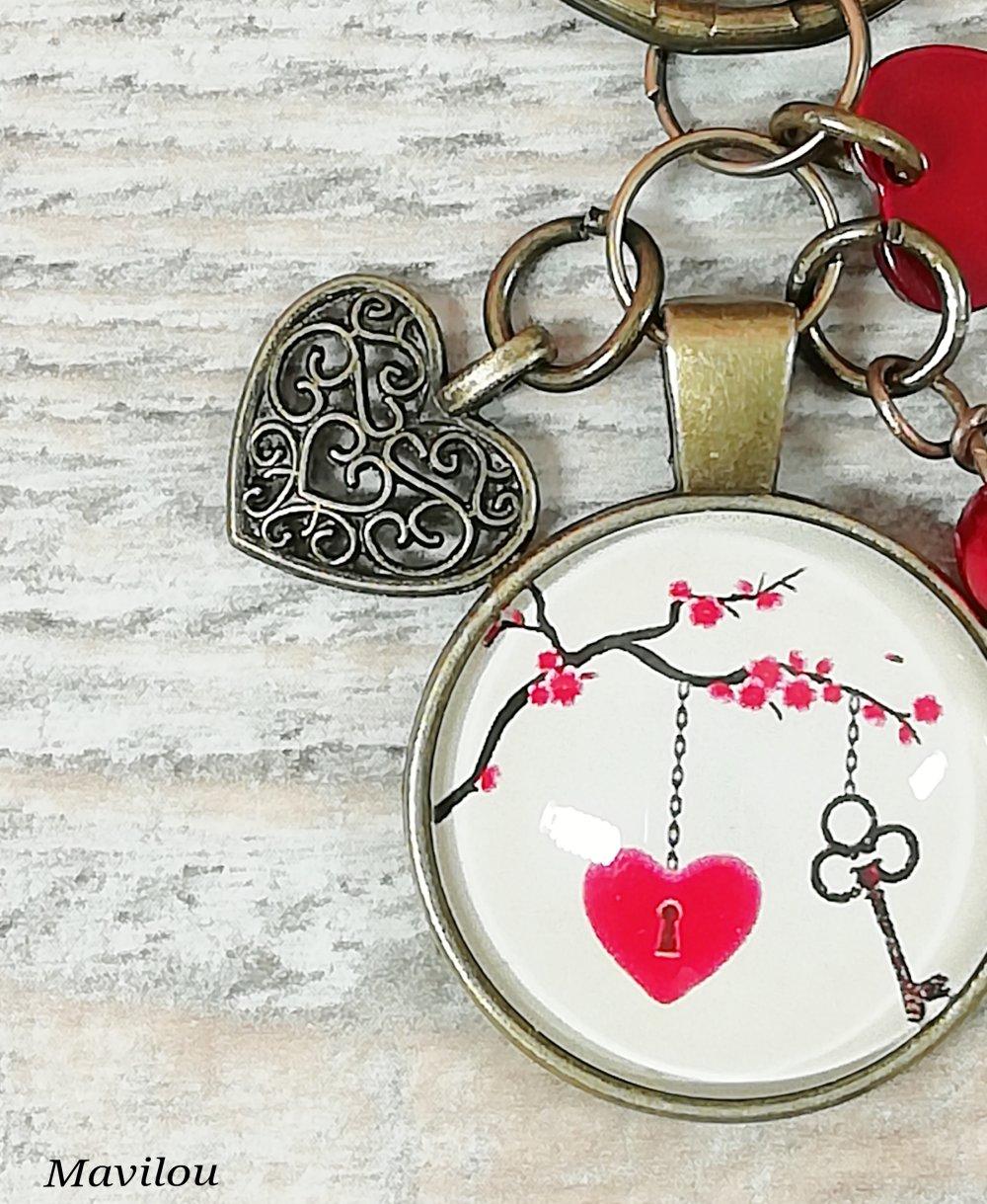 """Porte-clés """"Love N°2"""""""