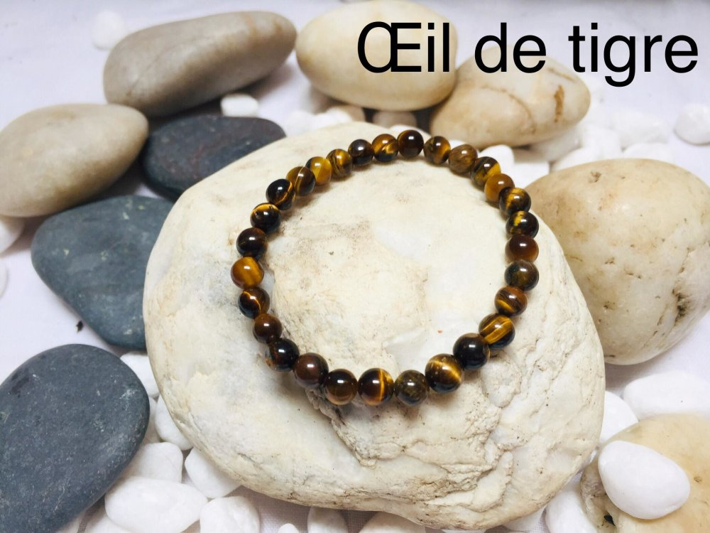 Bracelets  pierres naturelles  Œil de TIGRE