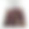 50 perles de tourmaline rose pierre gemme 4mm