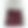 50 perles de jaspe rouge perles semi-précieuses 6mm