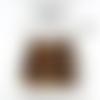 50 perles œil de tigre pierres gemmes 6mm