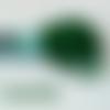 Echevette de fils canevas en polyester 8 mètres vert bouteille