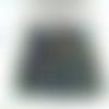 50 perles rondelles à facettes en verre 4mm violet bleu vert