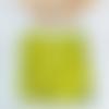 Heishi 100 perles rondelles 6mm vert anis