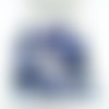 30 perles rondes de sodalite pierre gemme 8mm