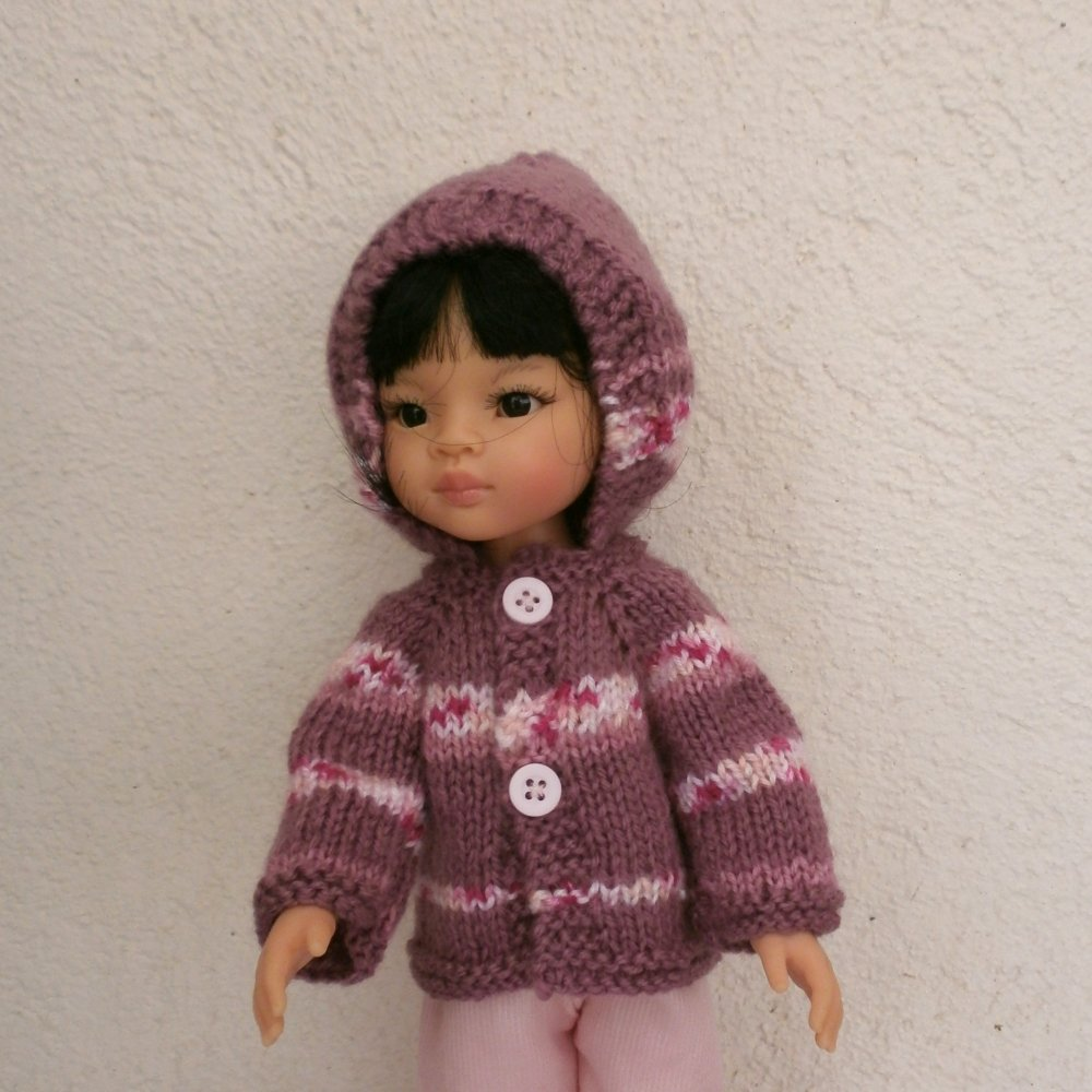 Habits Les Chéries - veste à capuche rose