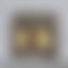 Peinture : arbre de vie celtique 20cm x 20cm - acrylique sur toile