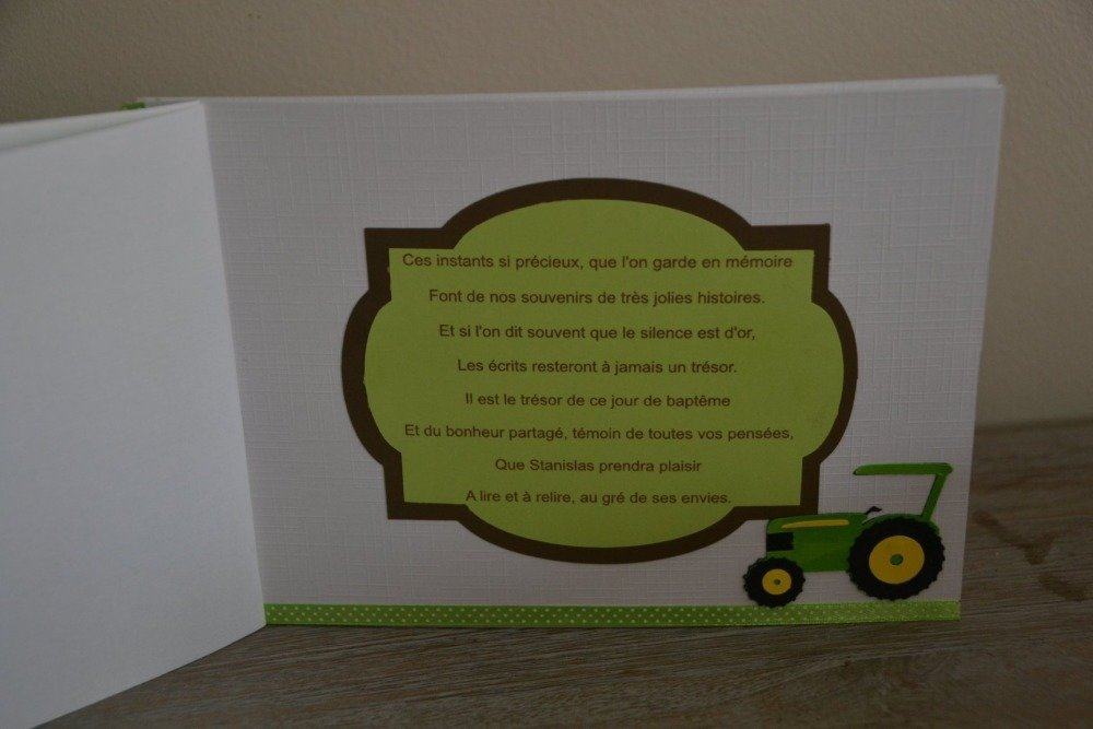 livre d or tracteur