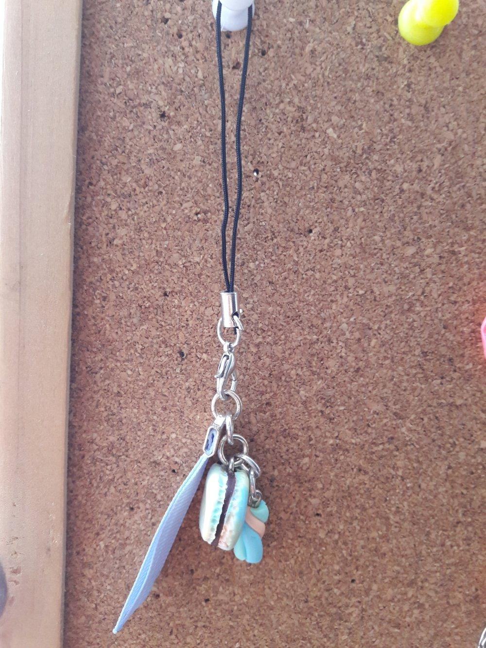 Bijoux de sacs bleu