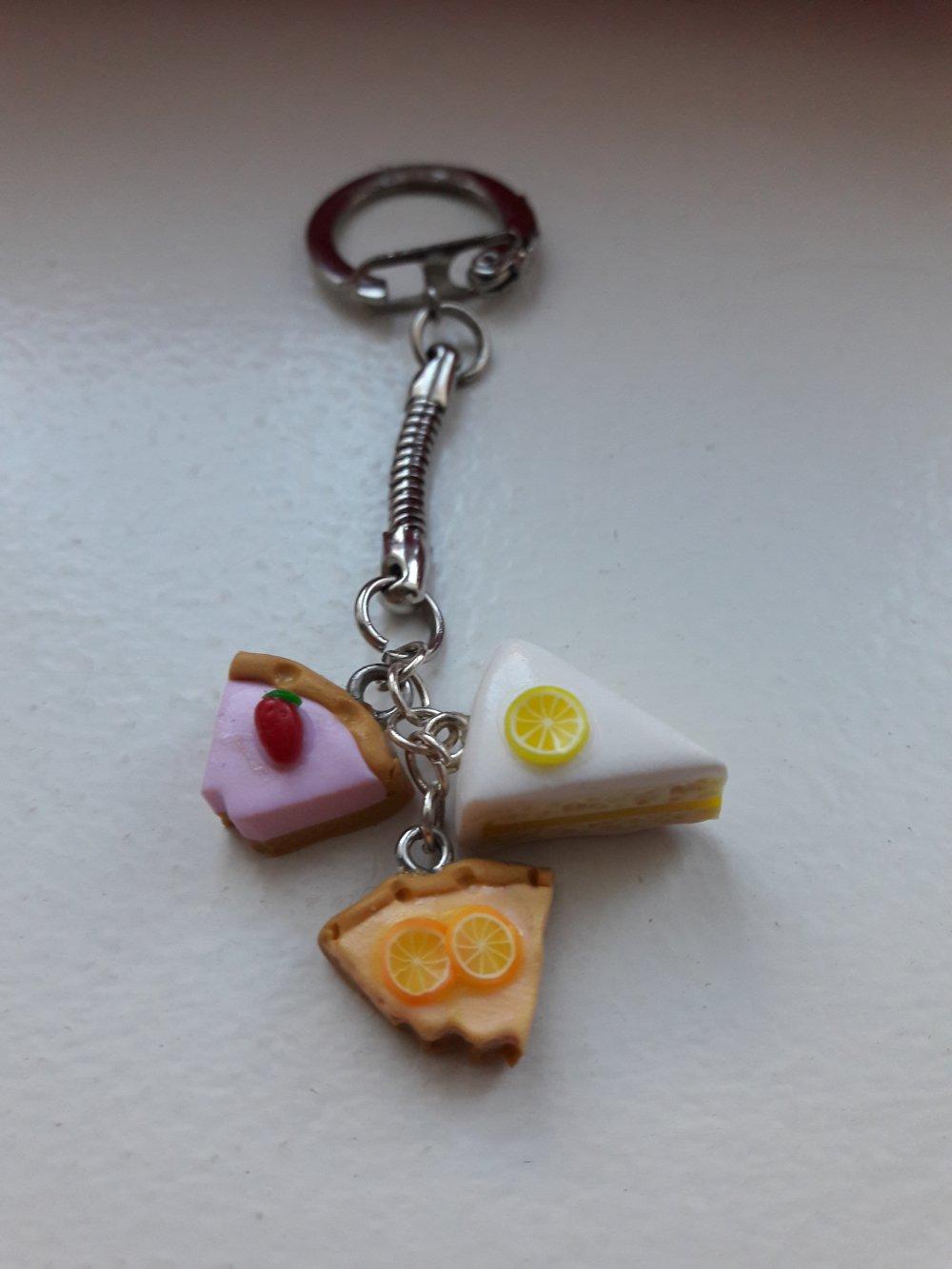 Porte clés gâteaux