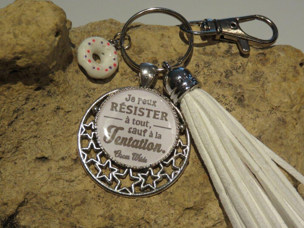 """Porte clés """"collection philosophique"""""""