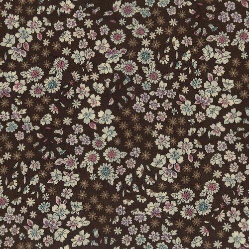 Tissu coton fleuri, collection fleuri frou-frou, coupon tissus paritys, coupon popeline, coupon tissu, frou frou, coton, coupon, fleuri,