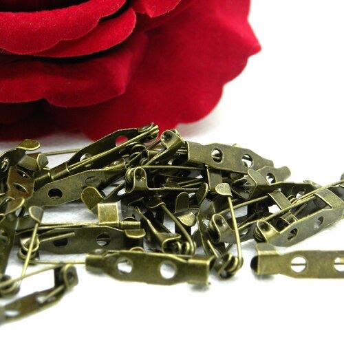 Épingles de broche, épingles de sûreté, support pour broche, support broche bronze, support broche, support épingle, broche, épingle, pin's