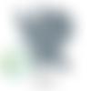 Anneau de dentition fée en silicone 70x64x10mm - gris