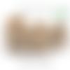 Anneau en bois naturel non peint, non traité, non verni - 70/50mm