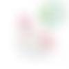Anneau de dentition licorne en silicone sans  - rose clair