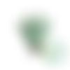 Clip couronne en silicone alimentaire 45x53mm - mint