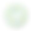 Anneau de dentition donut en silicone  53mm - vert menthe