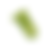 Clip en plastique pour attache-tétine - chartreuse