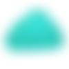 Anneau de dentition nuage en silicone alimentaire sans bpa 90x62mm - émeraude